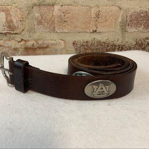 Childs auburn university leather belt zep-pro